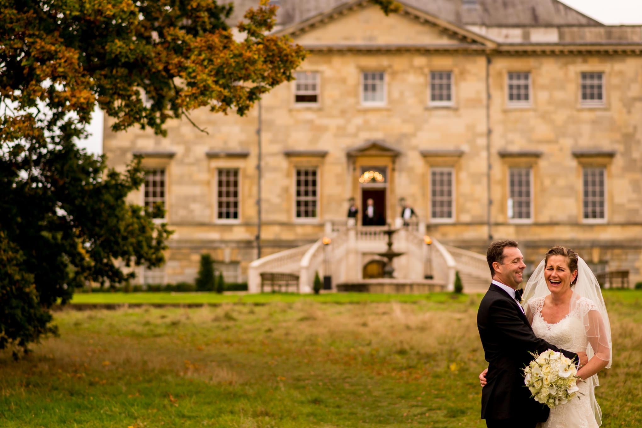 wedding at Botleys Mansion
