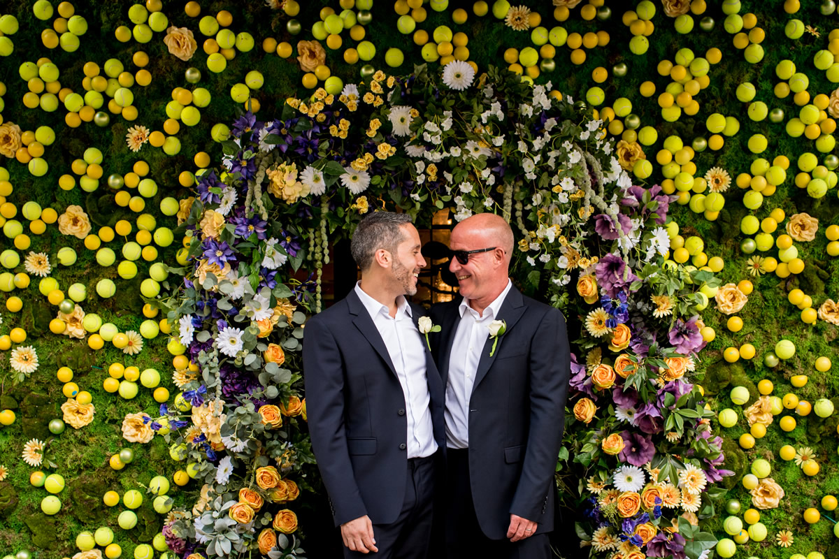 Same Sex Wedding at Chelsea - Mark & Ryad