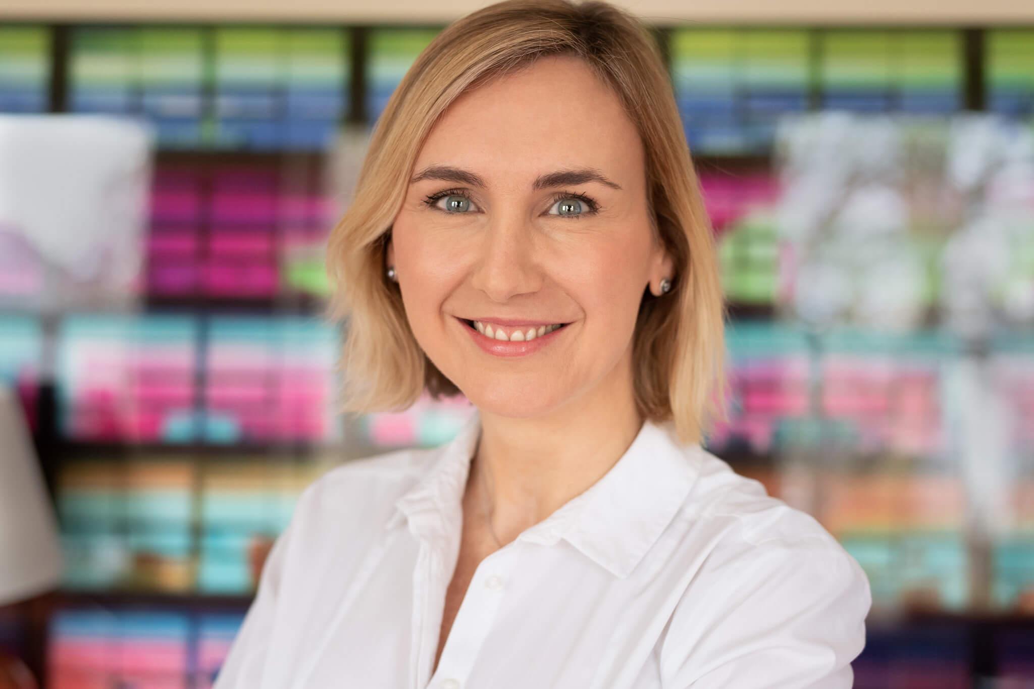 Professional Headshots London - Carine Bea: Corporate