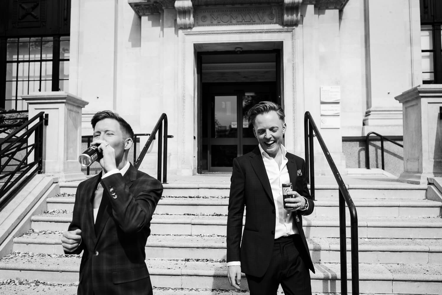 Carine Bea Photography,drunken groom at wedding