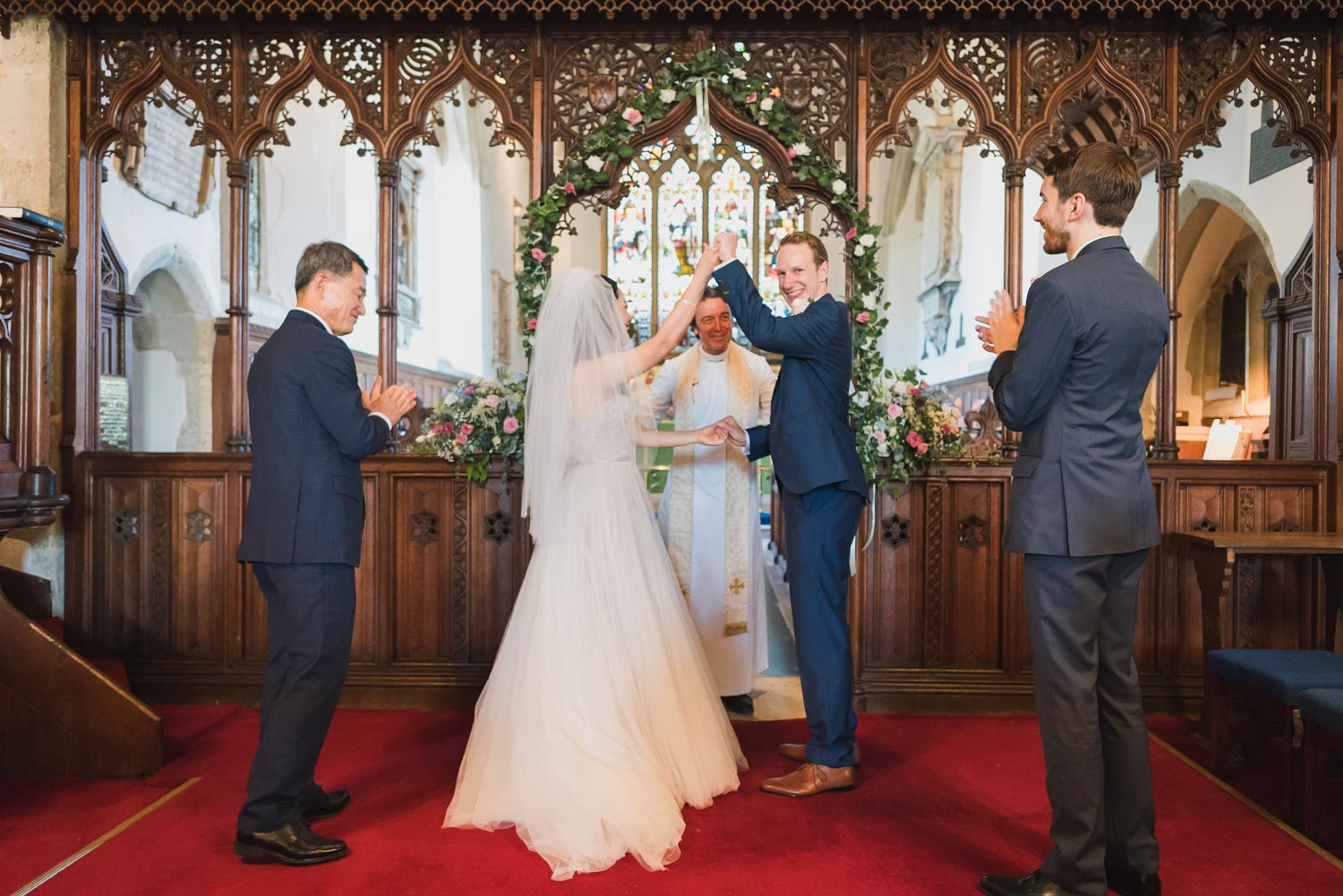 Saint Mary's Oxted Church wedding, Carine Bea Photography