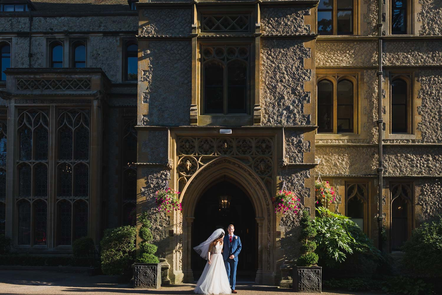 Nutfield Priory Wedding portrait, Carine Bea Photography