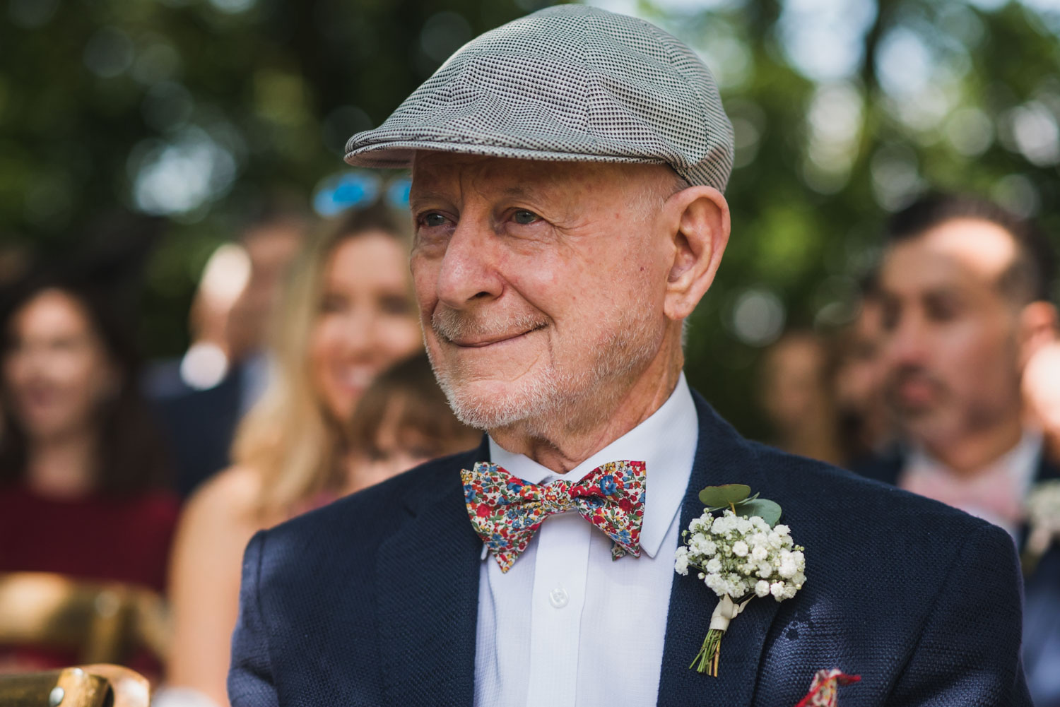 Outdoor wedding- Father of the bride, covid-tips, Carine Bea Photography