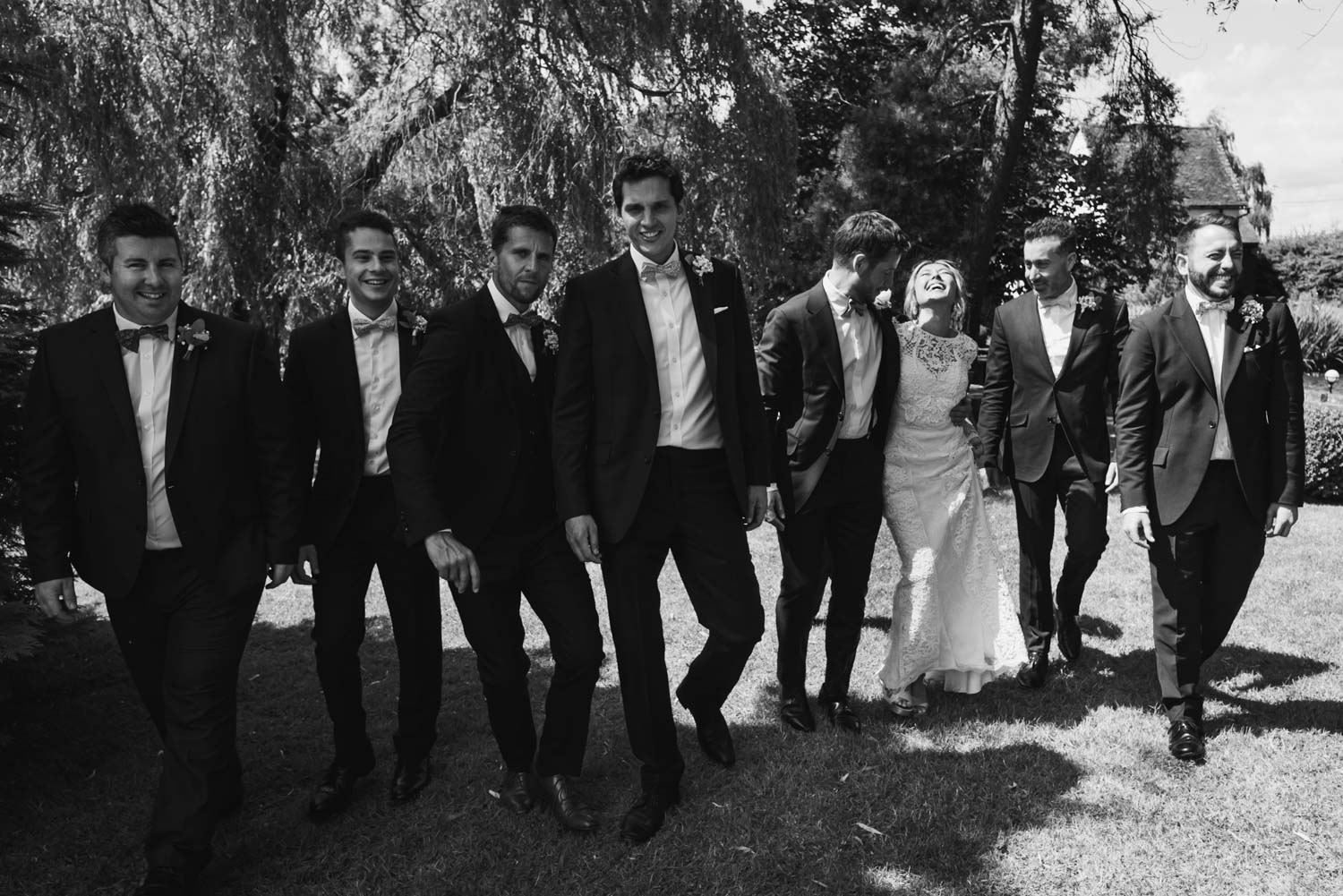 ushers and best man, Carine Bea Photography