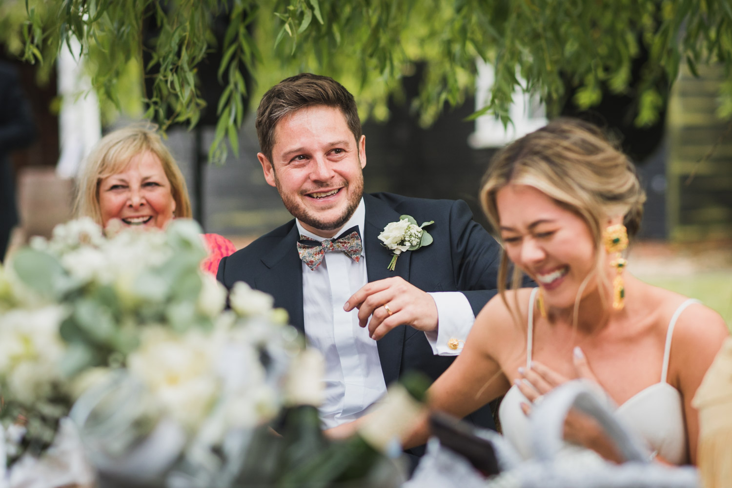 Wedding speeches, Carine Bea Photography