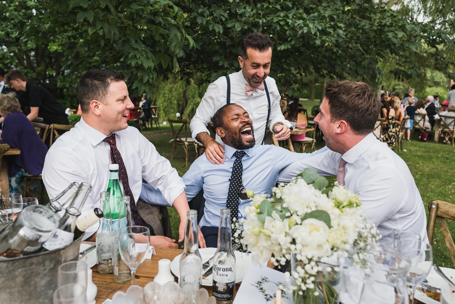 Guests having fun at wedding, Carine Bea Photography