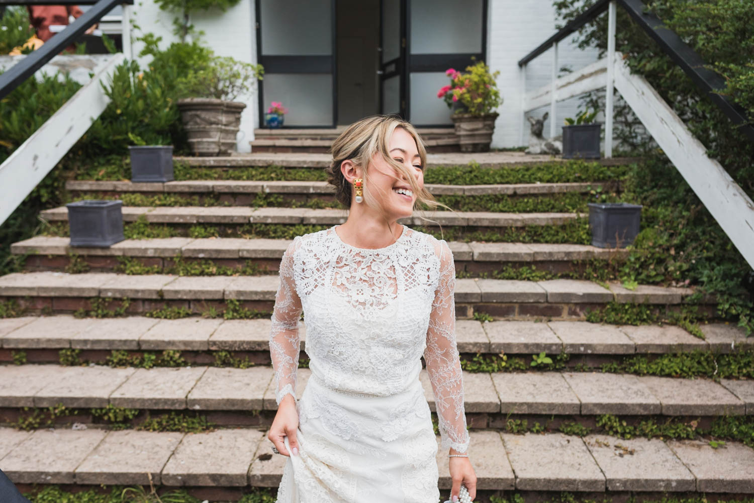 bride happy, covid-tips, Carine Bea Photography