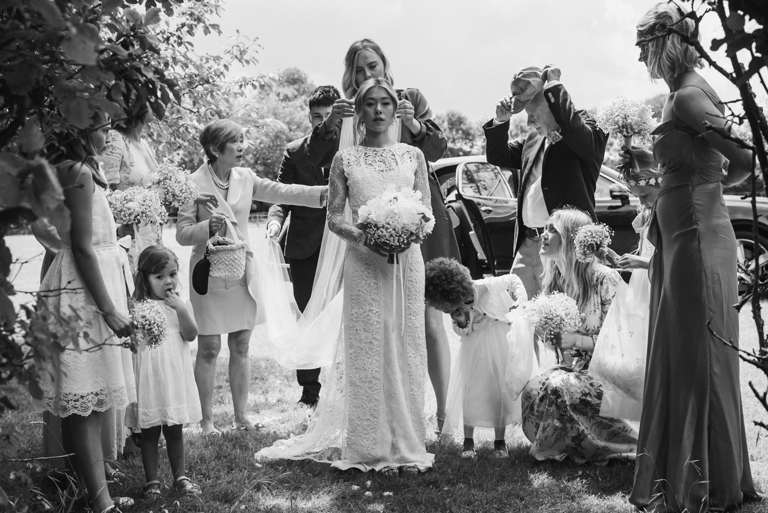 Wedding- Black & white, covid-tips, Carine Bea Photography