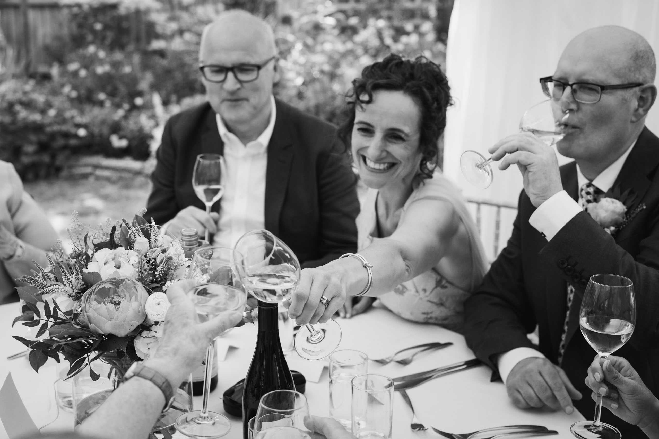 Carine Bea Photography, wedding toast