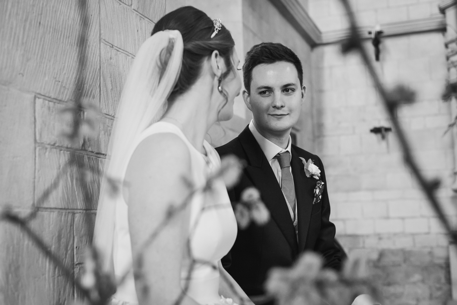 carine bea photography, church wedding