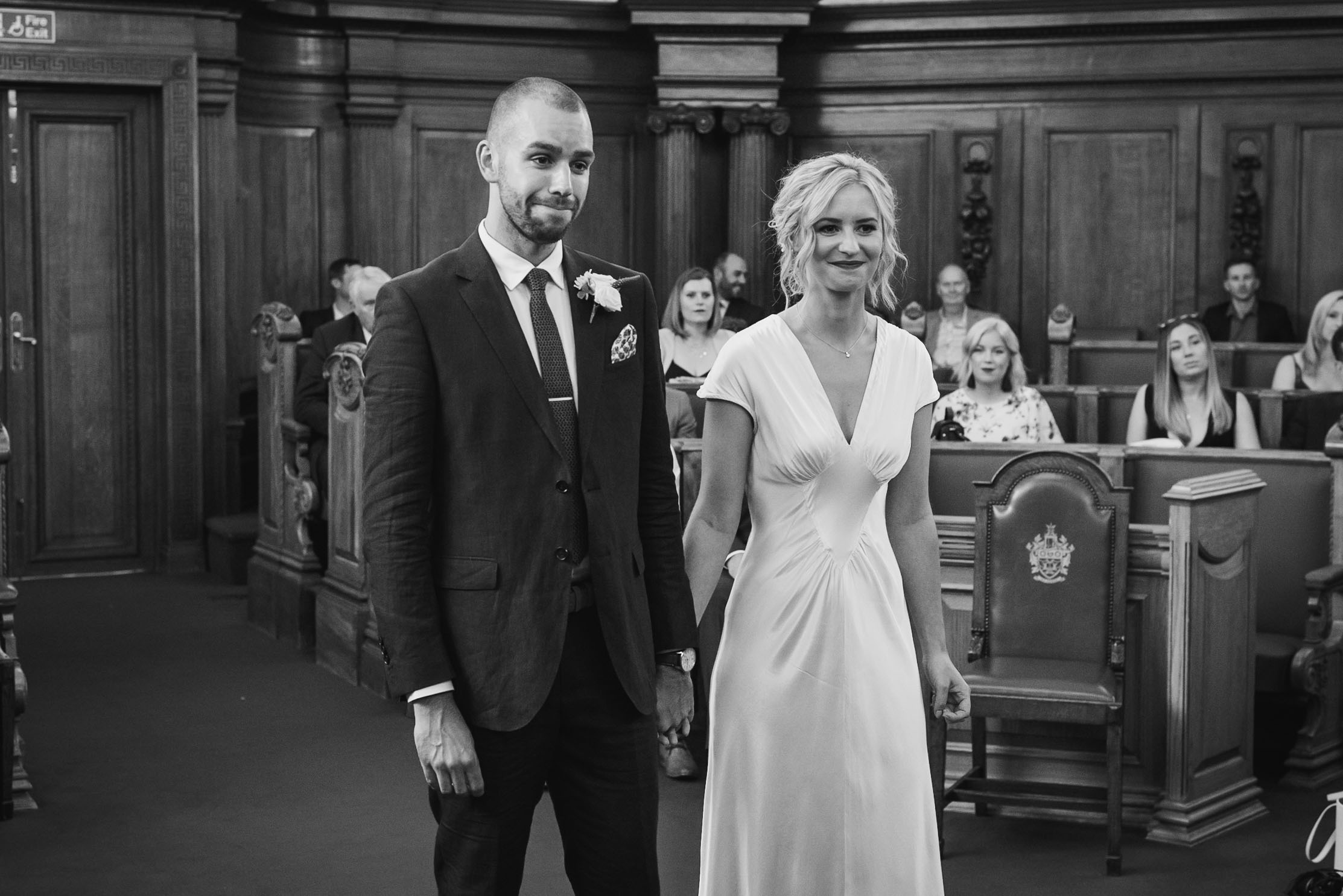 carine bea photography, islington hall wedding, emotions
