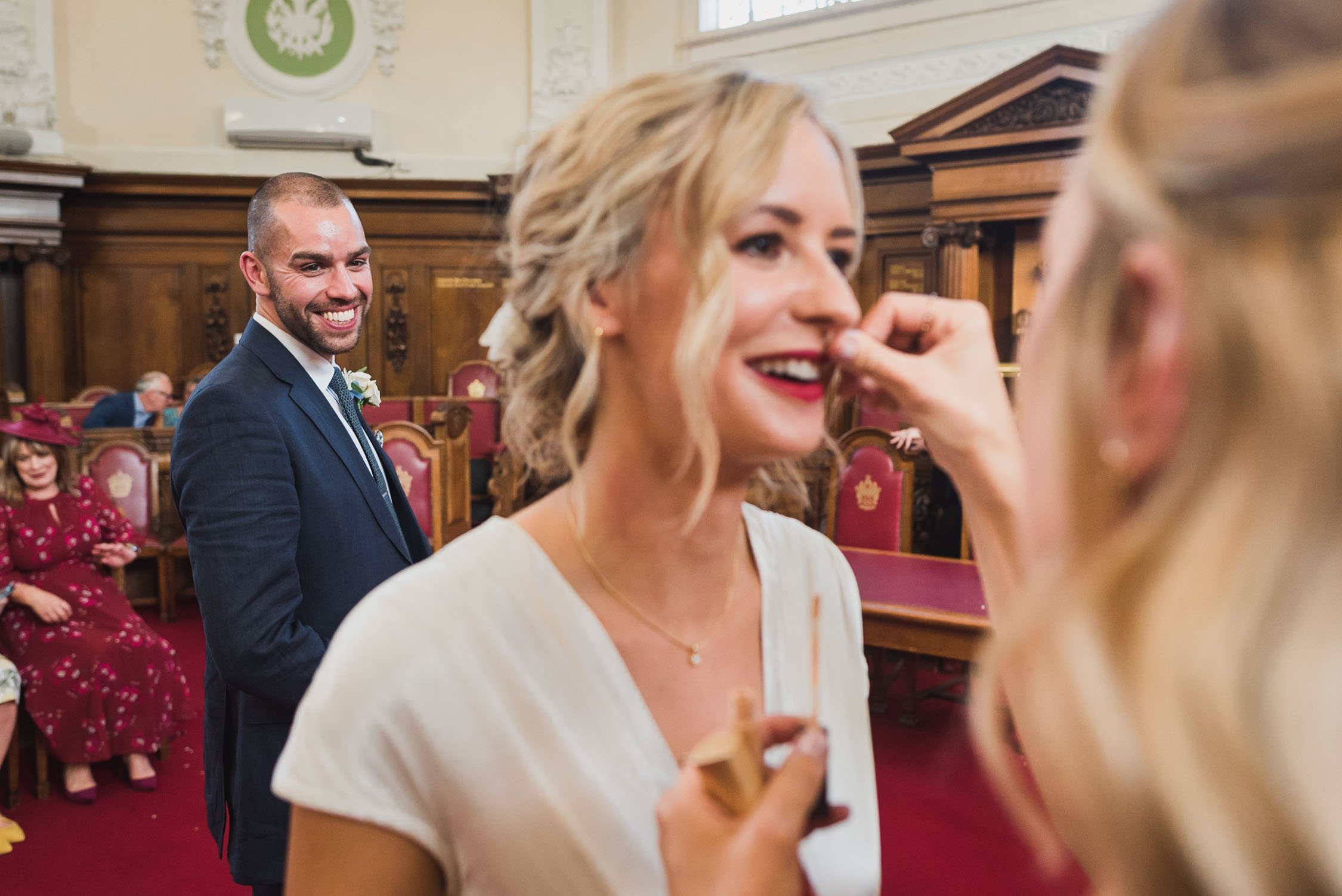 carine bea photography, islington town hall wedding