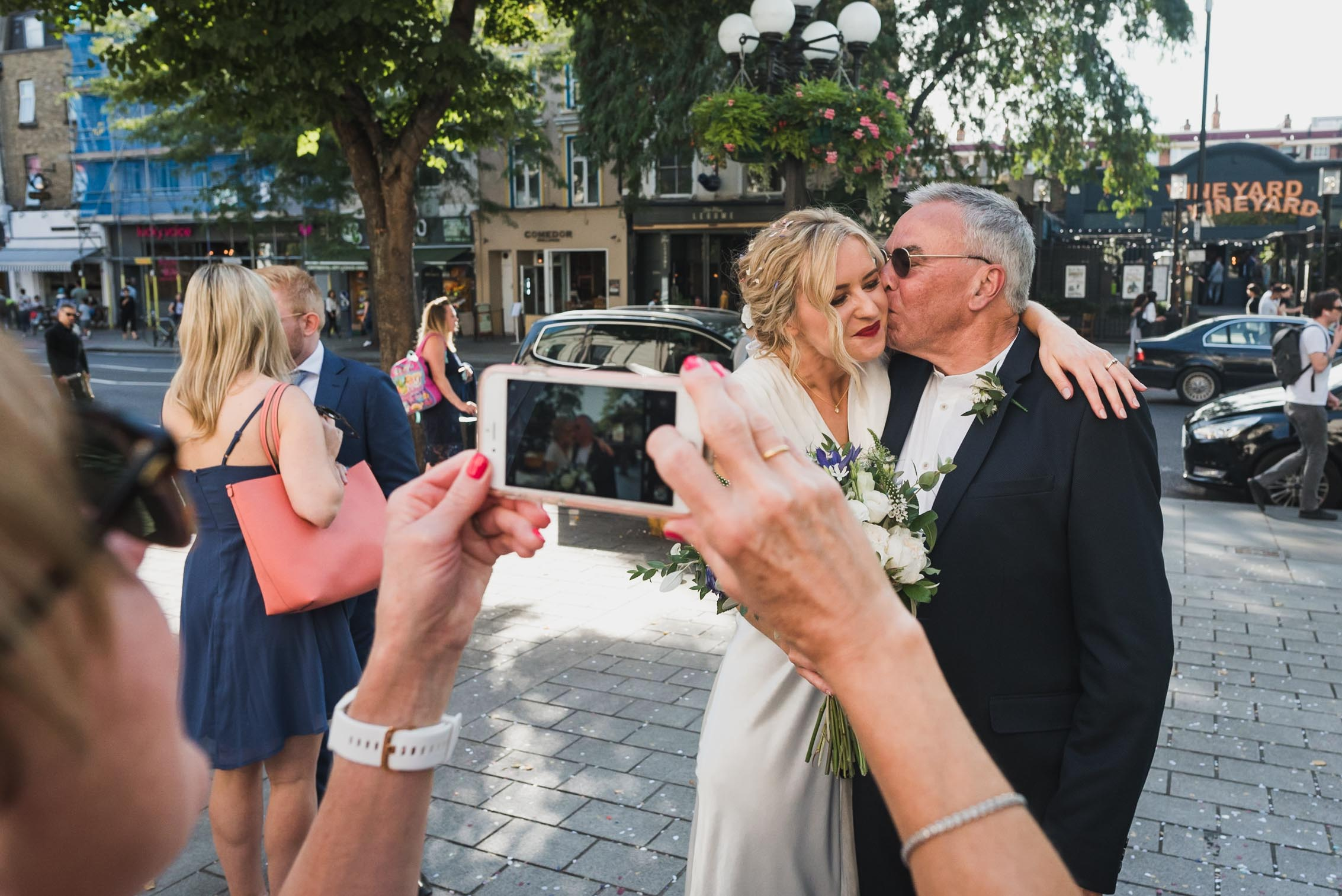 carine bea photography, islington hall wedding, documentary