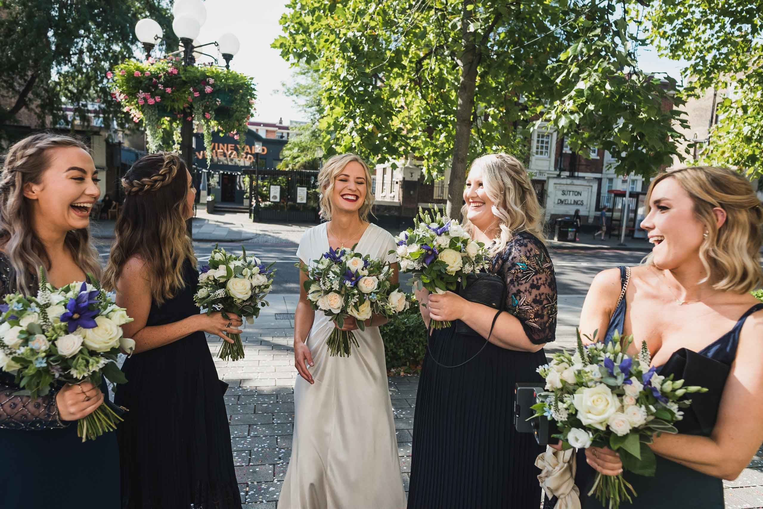 carine bea photography, islington hall wedding, bridesmaid