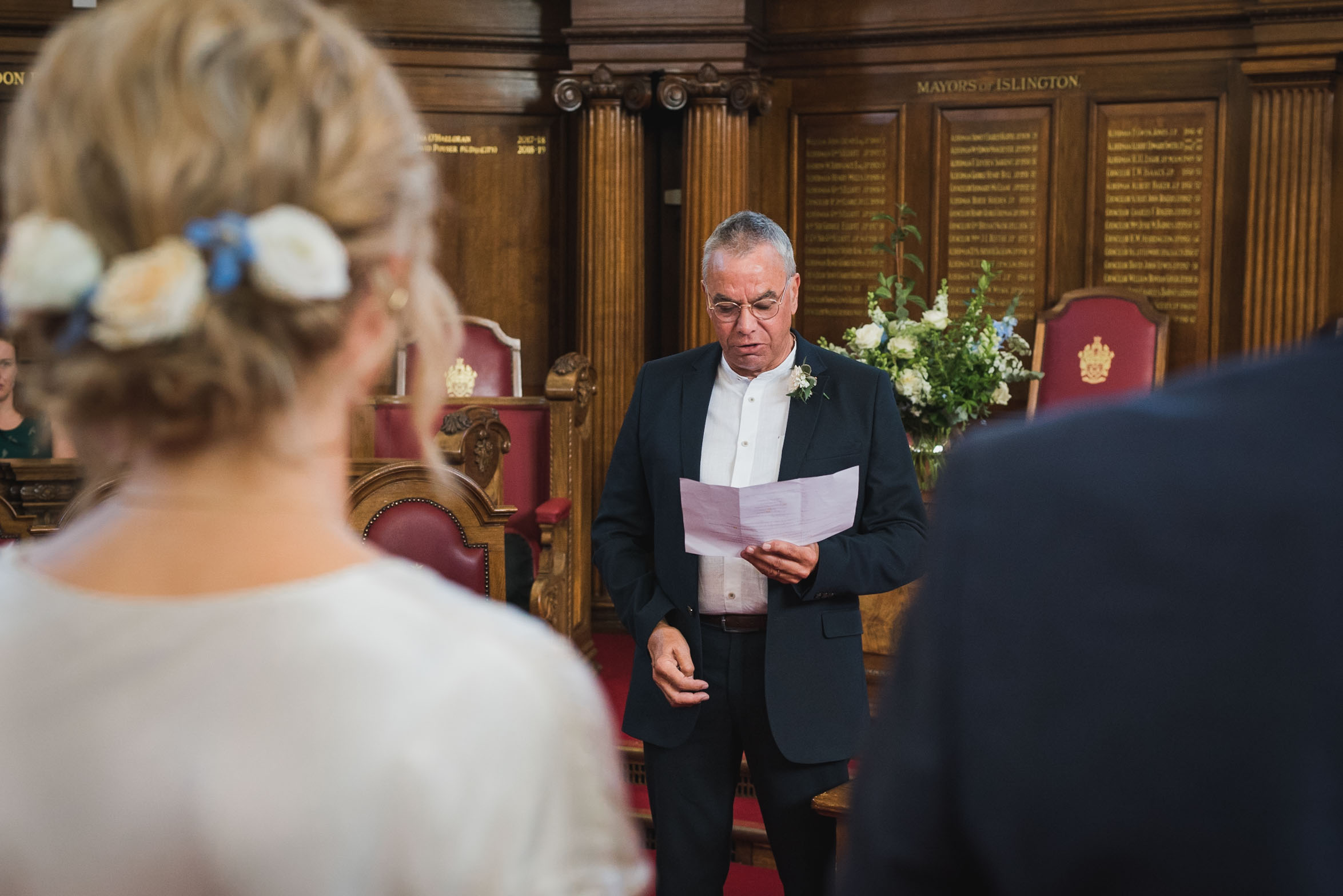 carine bea photography, islington hall wedding, father of the groom speechs