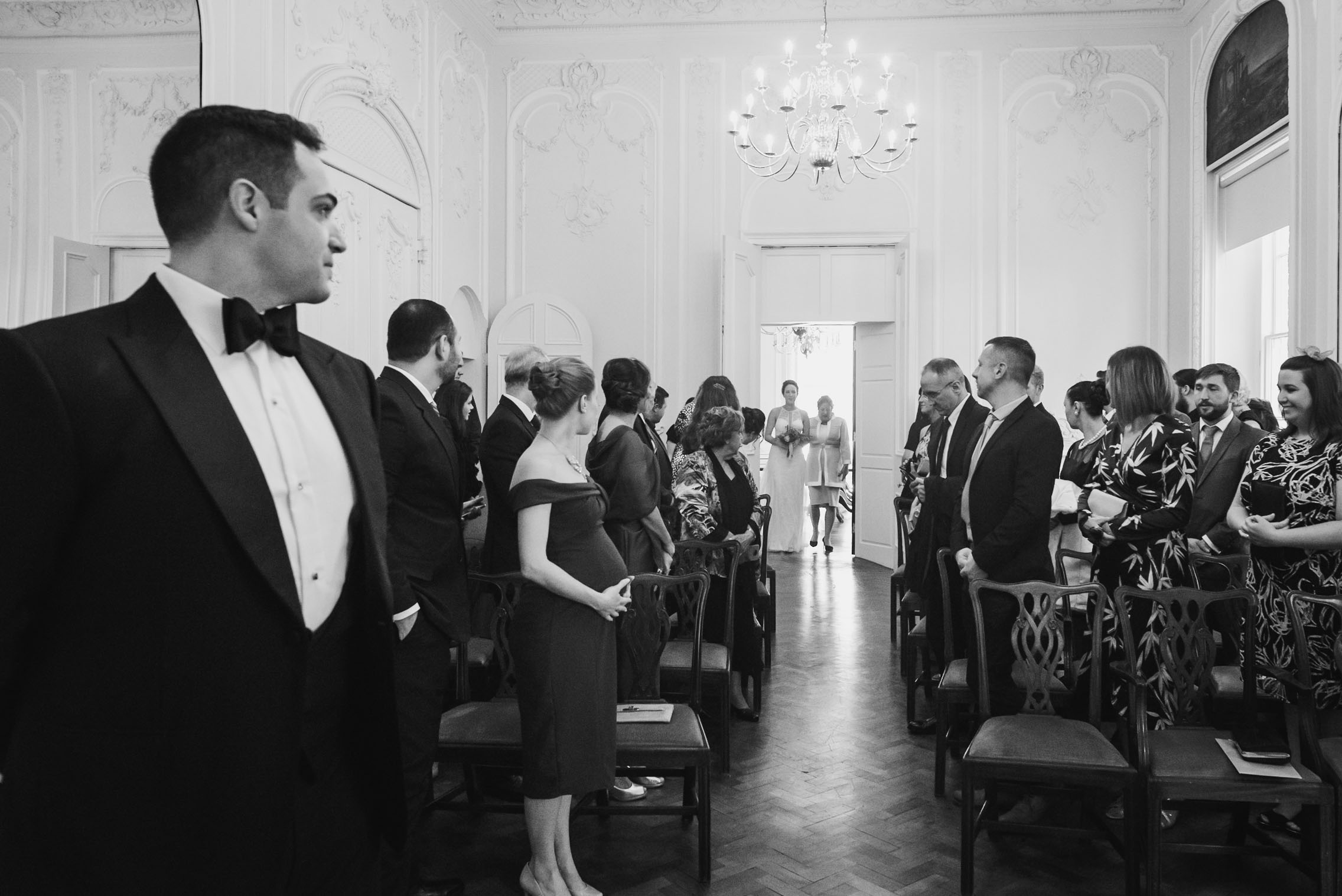 carine bea photography, wedding ceremony at carlton house terrace london