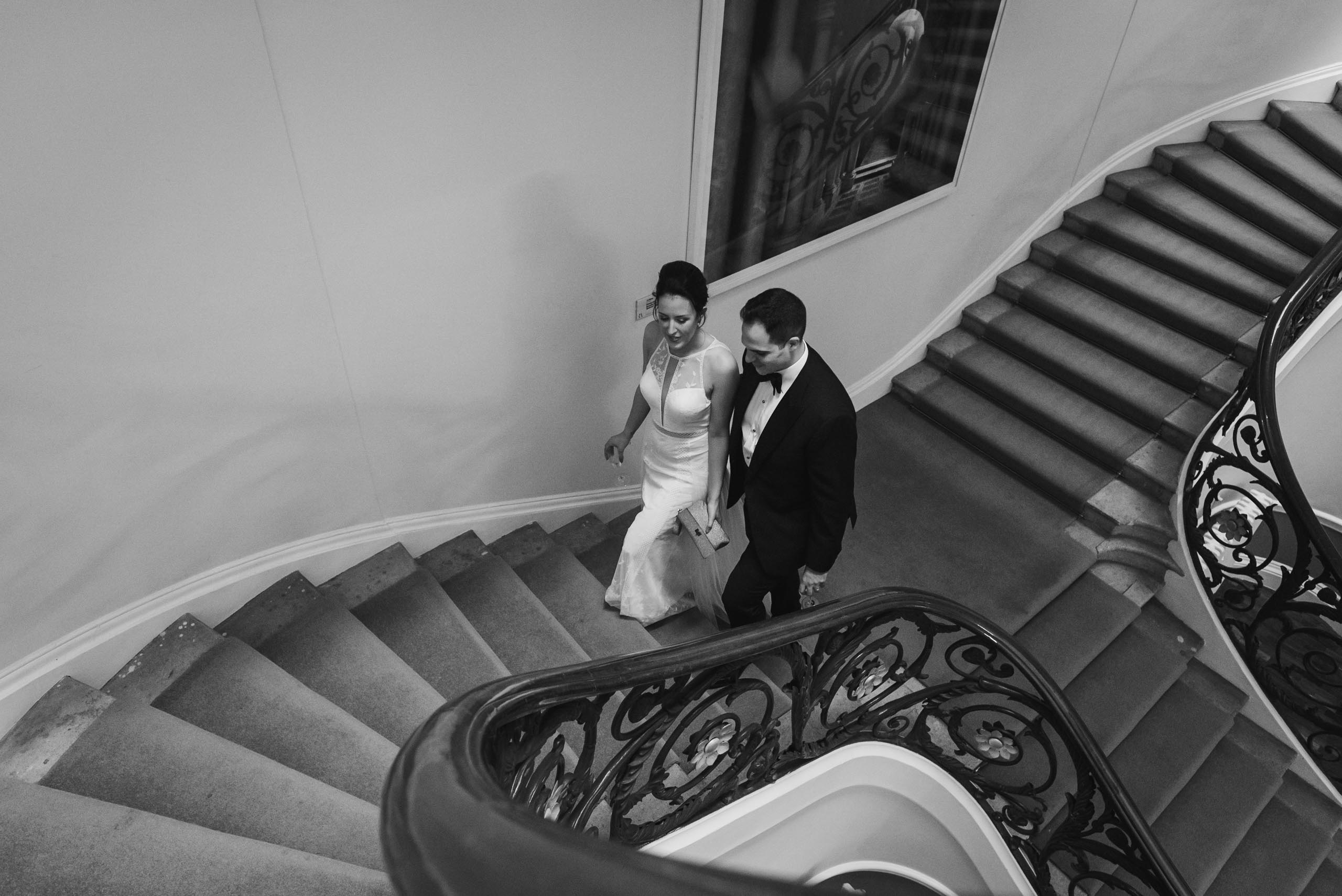 carine bea photography, couple at couple portraits wedding Carlton House Terrace London