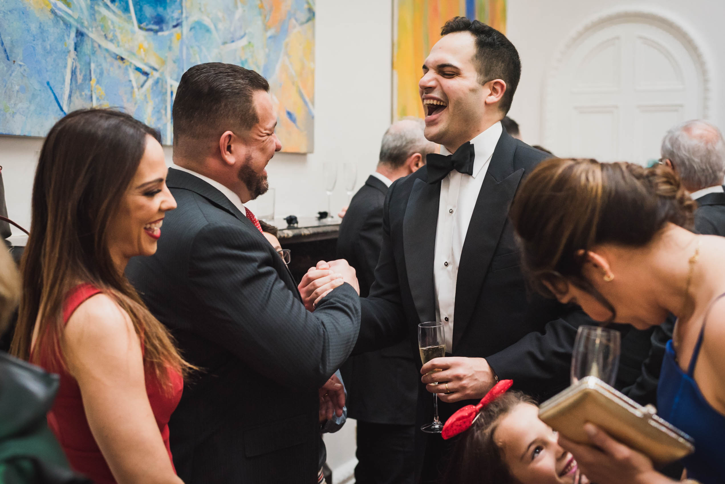carine bea photography, groom laughing couple portraits wedding Carlton House Terrace London