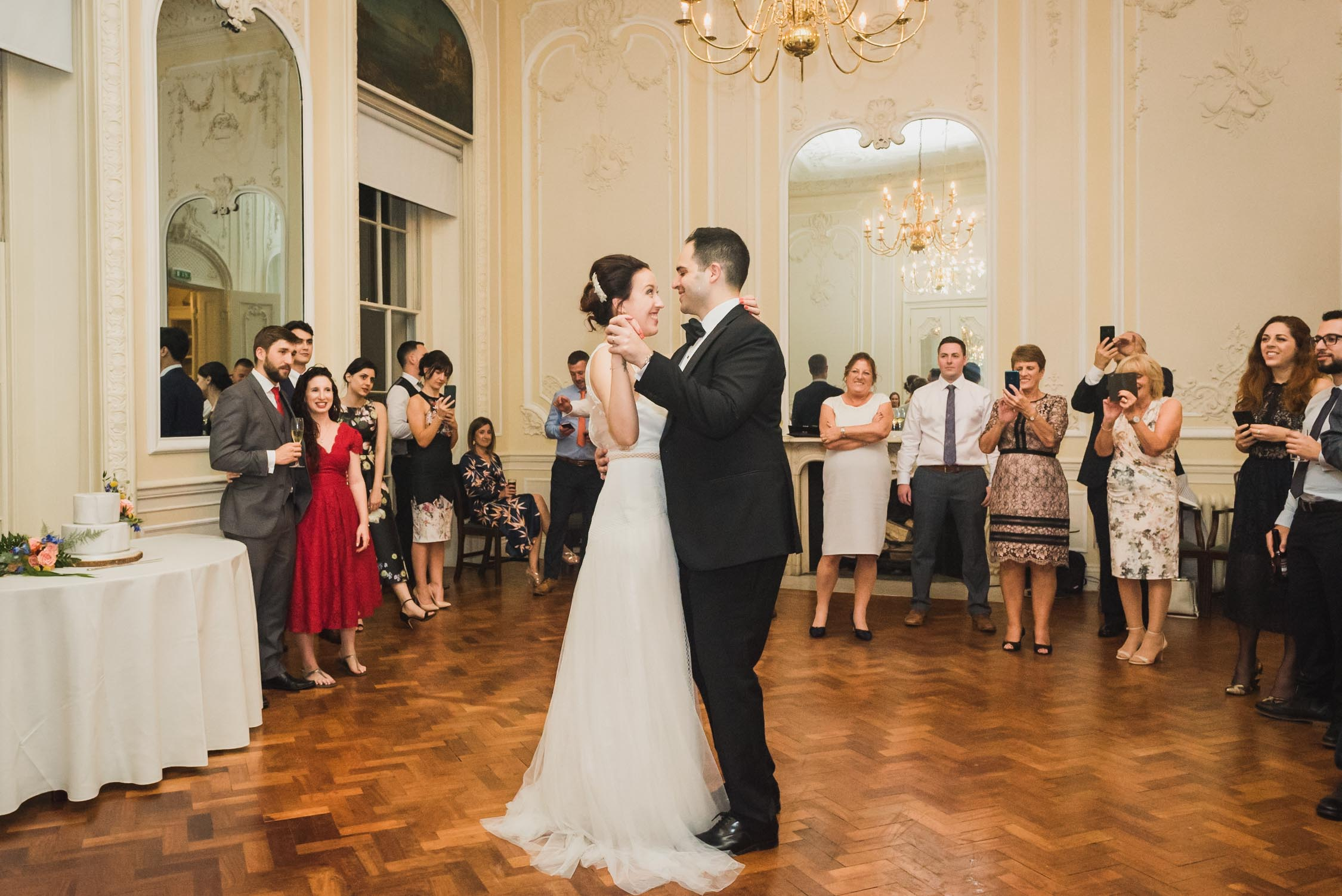 carine bea photography, first dance wedding Carlton House Terrace London