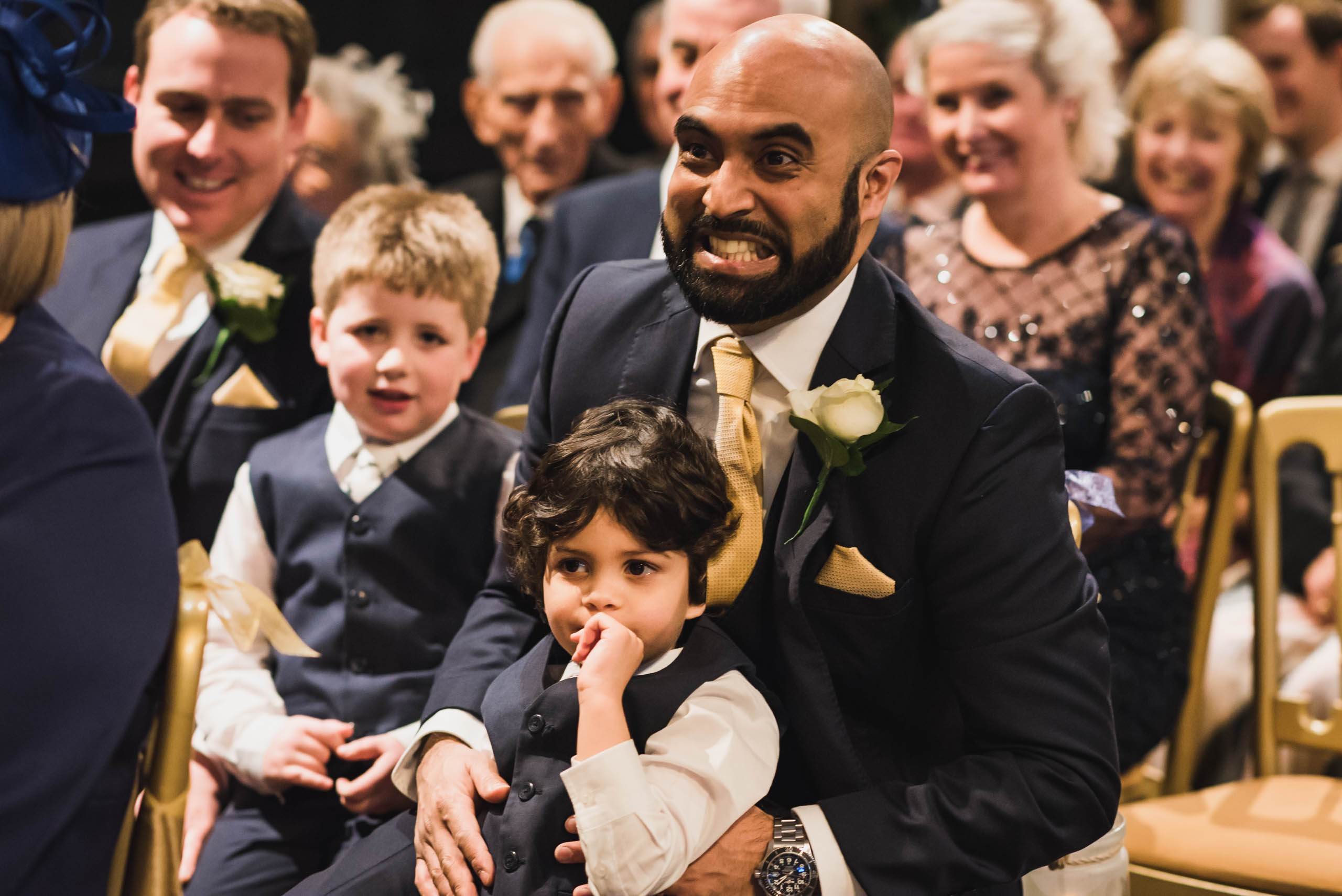 Carine Bea photography, Multicultural wedding, kids