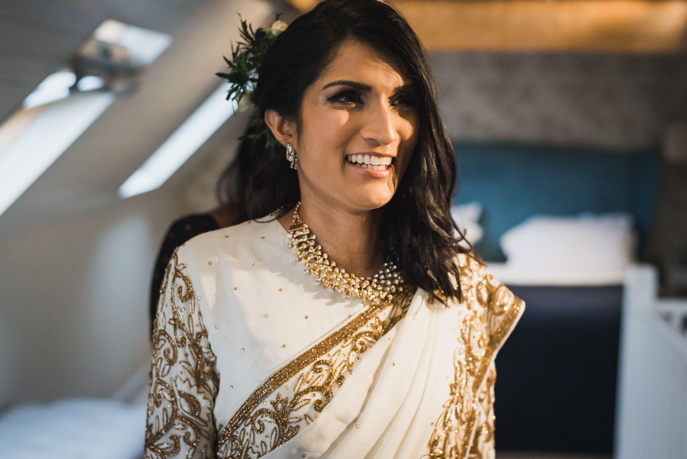 Carine Bea photography, Multicultural wedding, bride getting ready